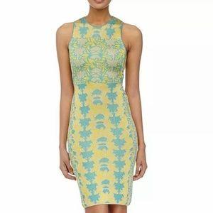 M Missoni Floral Lurex Jacquard Cutout Dress 40